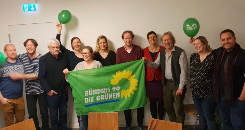 Die bündnisgrünen Kreistagskandidat*innen